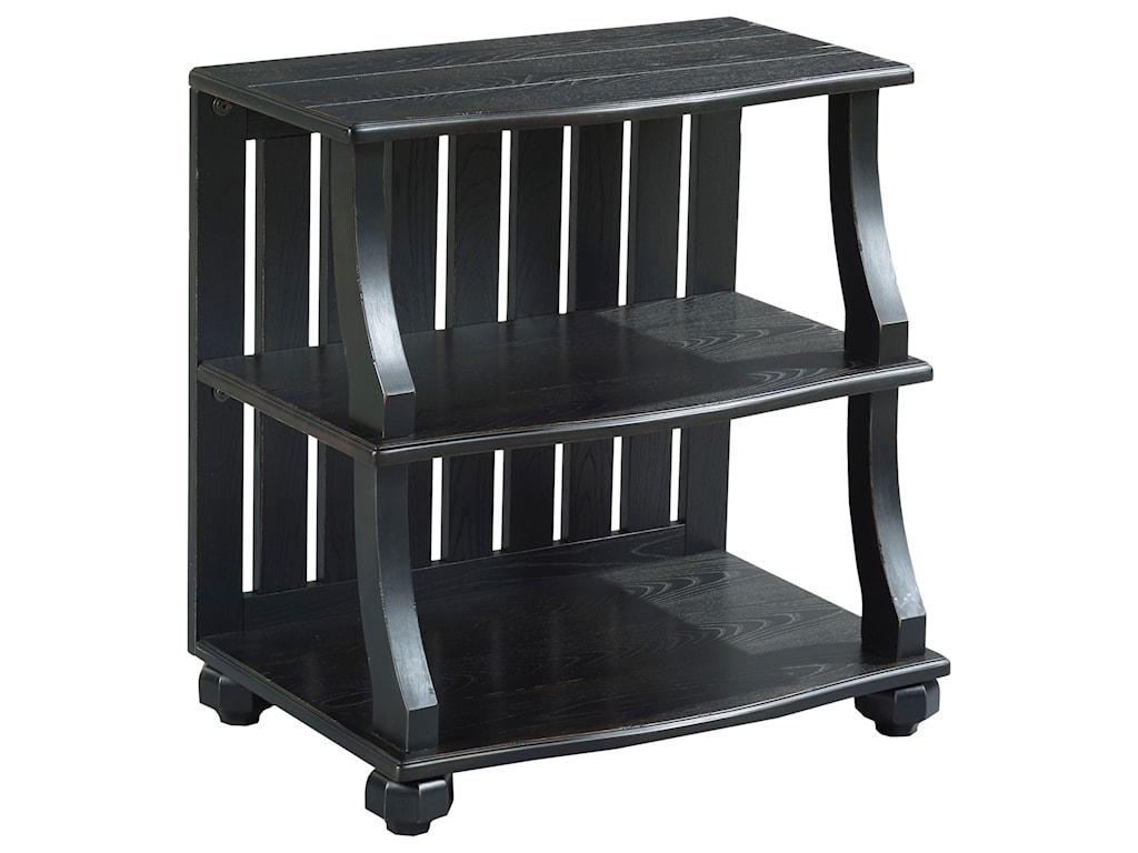 Hammary Elm RidgeOpen Chairside Table