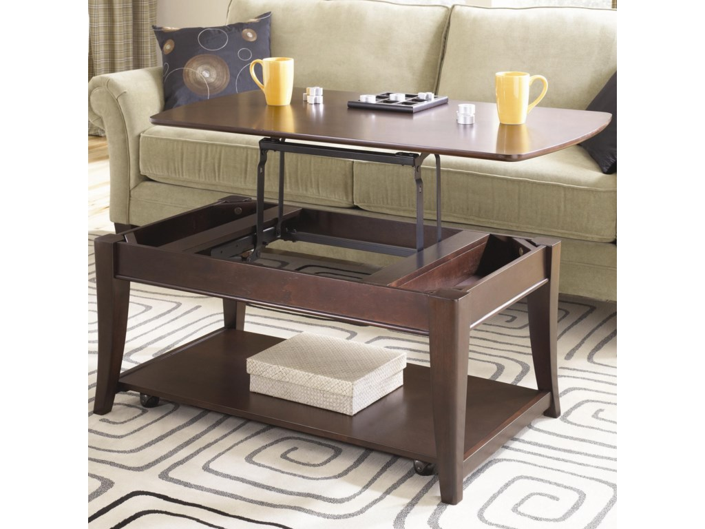 Hammary Enclave HAMRectangular Lift Top Cocktail Table