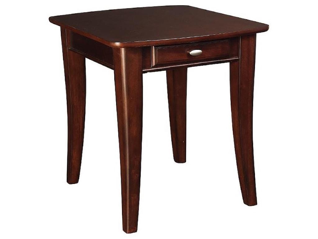 Hammary Enclave HAMEnd Table