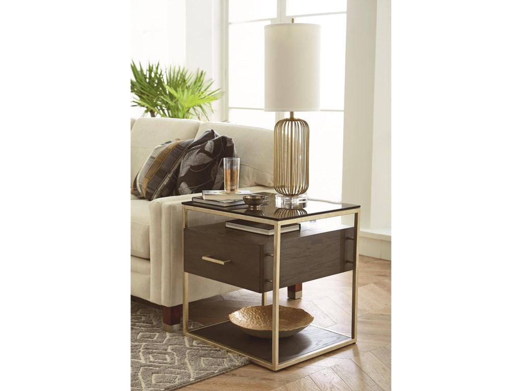 Hammary EssenceRectangular Drawer End Table