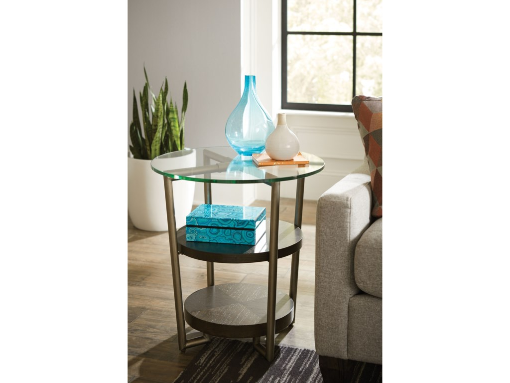 Hammary EtonRound Accent Table