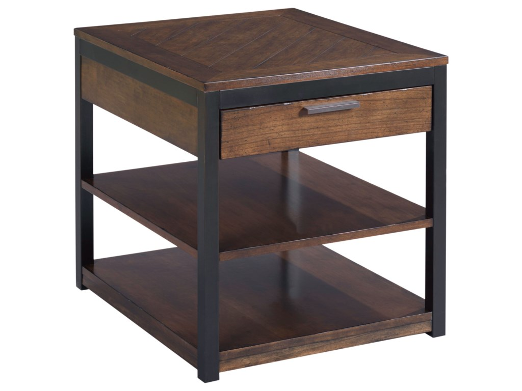 Hammary FranklinRectangular Drawer End Table