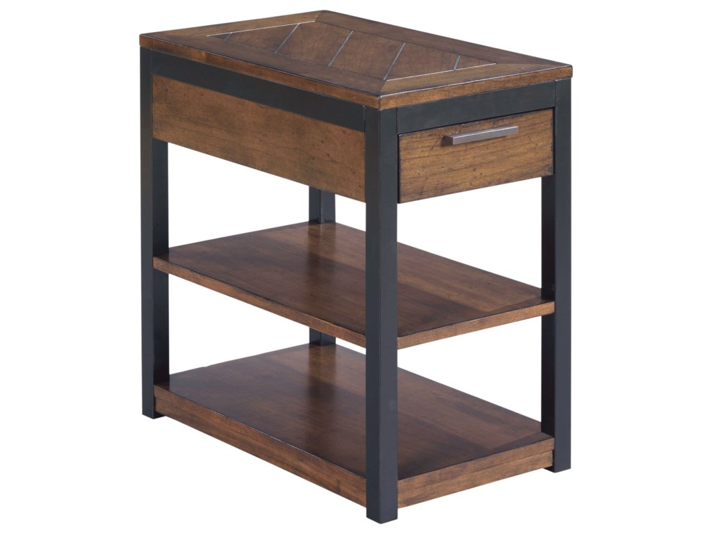 Hammary FranklinCharging Chairside Table