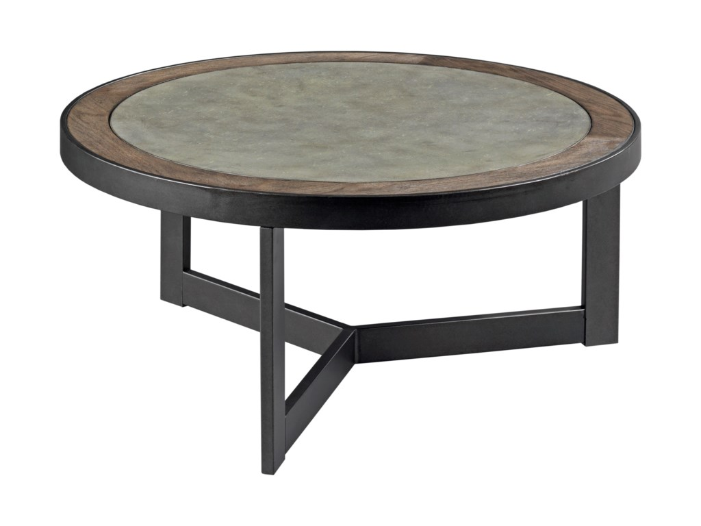 Hammary GraystoneRound Cocktail Table
