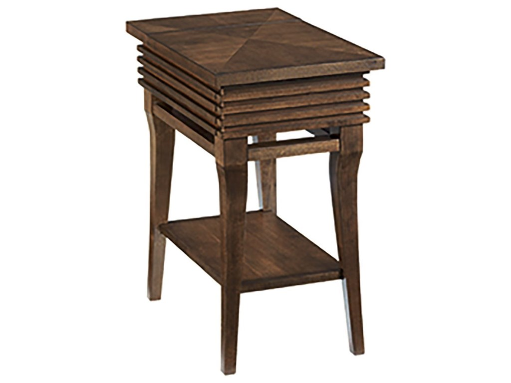 Hammary GroovyChairside Table