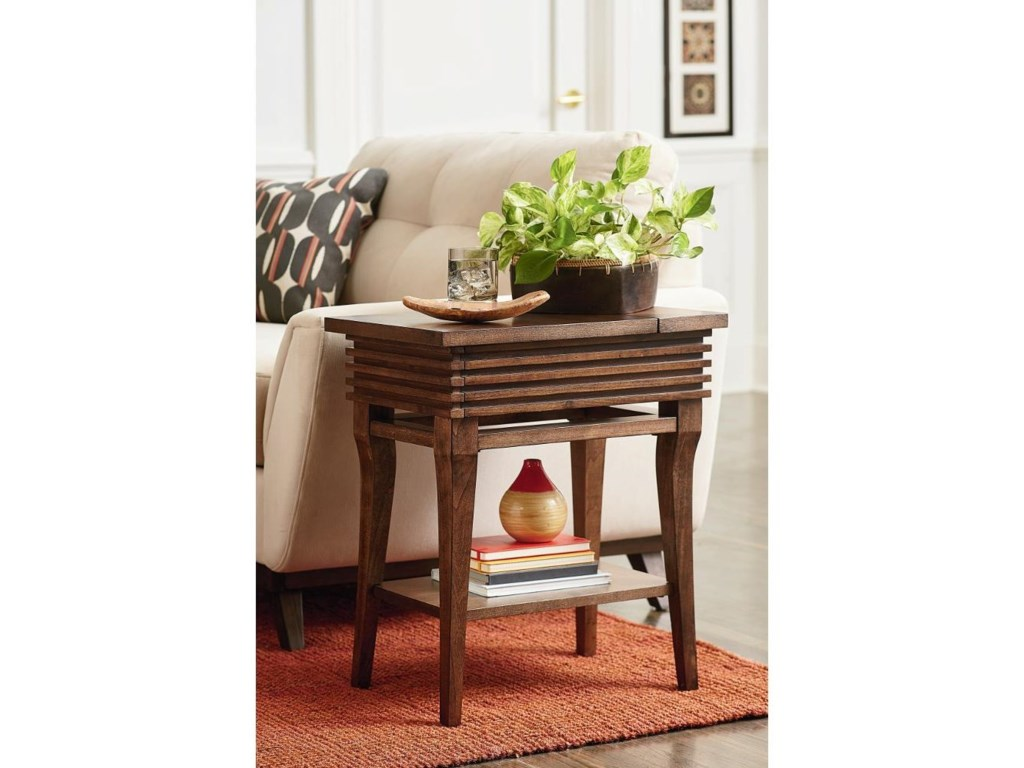 Hammary GroovyChairside Table