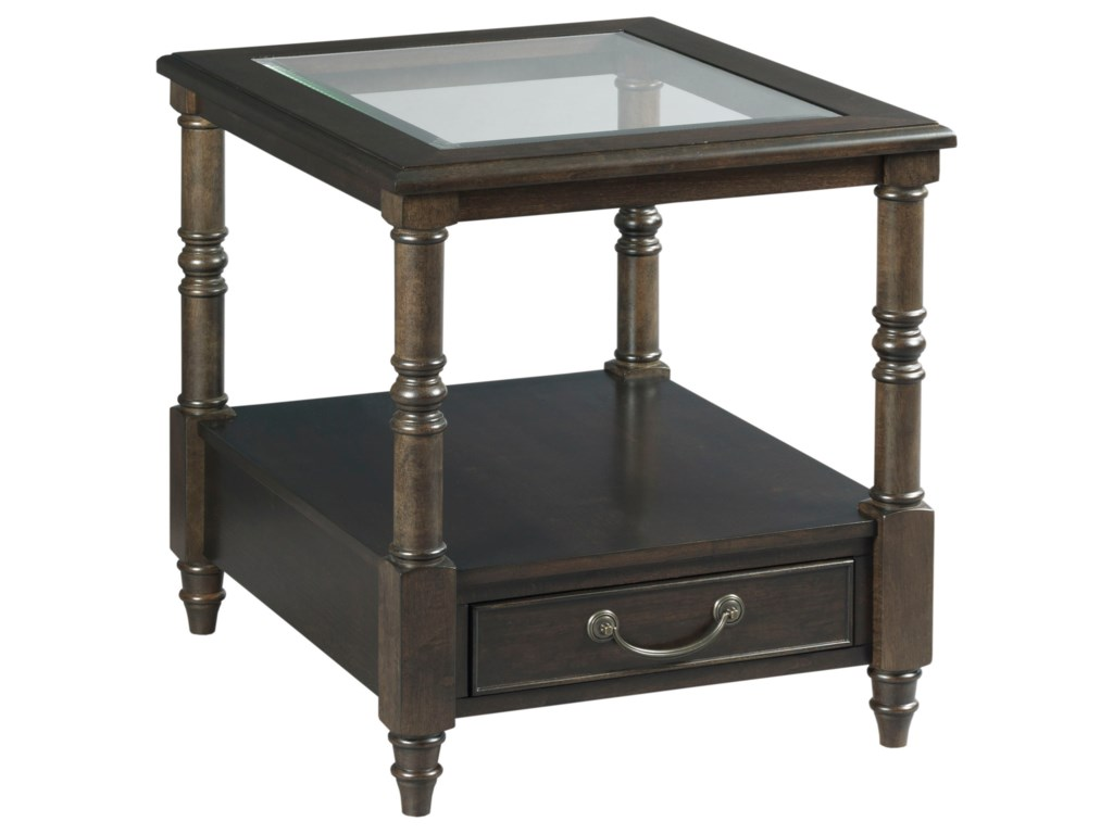 Hammary HamiltonRectangular Drawer End Table