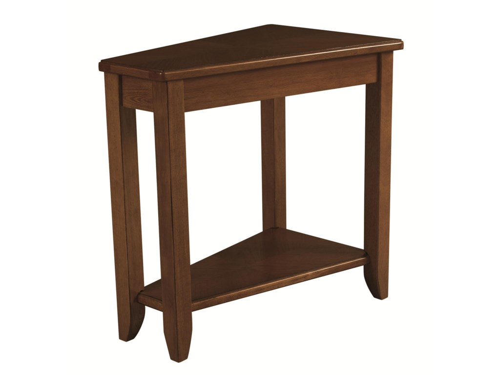 Hammary ChairsidesOak Chairside Table
