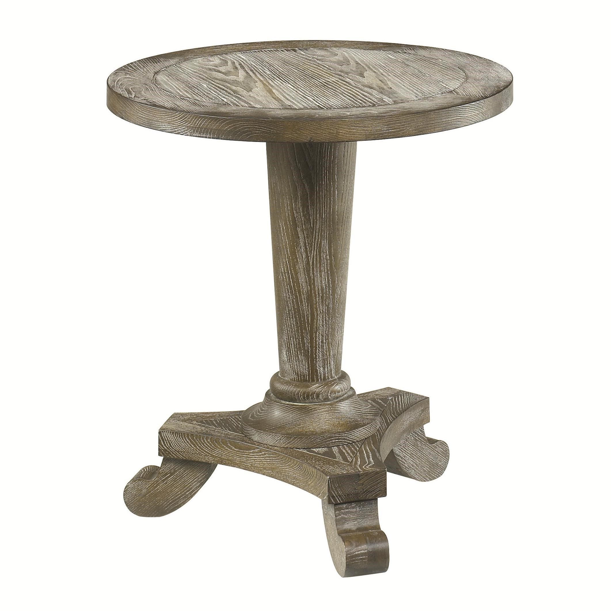 Hammary Hidden TreasuresRound Pedestal Table ...