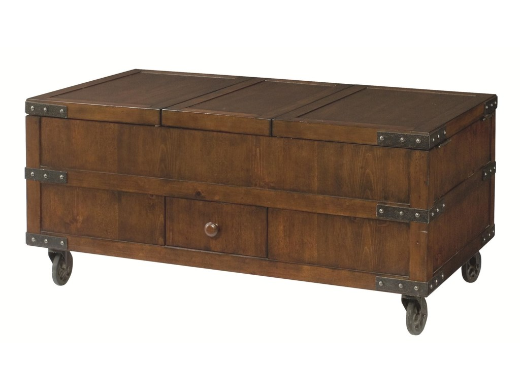 Morris Home Hidden Treasurestrunk Tail Table