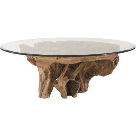 Root Ball Cocktail Table