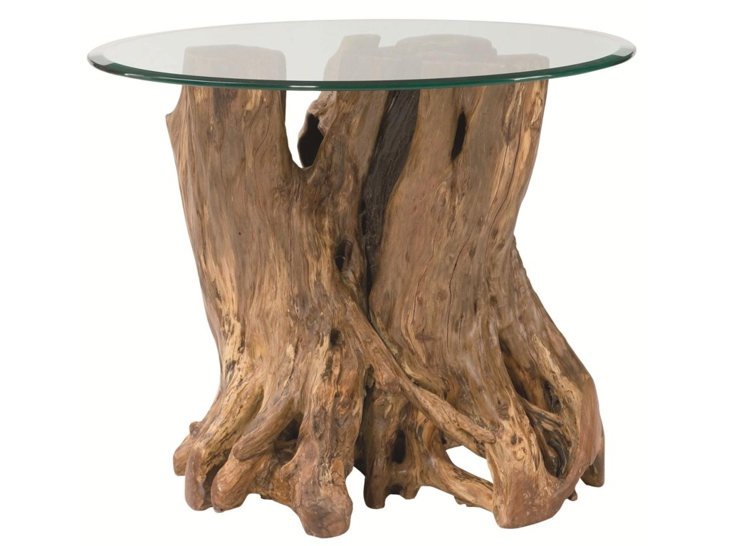 Hammary Hidden TreasuresRoot Ball End Table