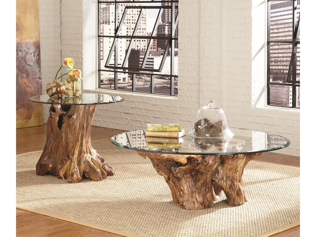 Shown with Root Ball Cocktail Table