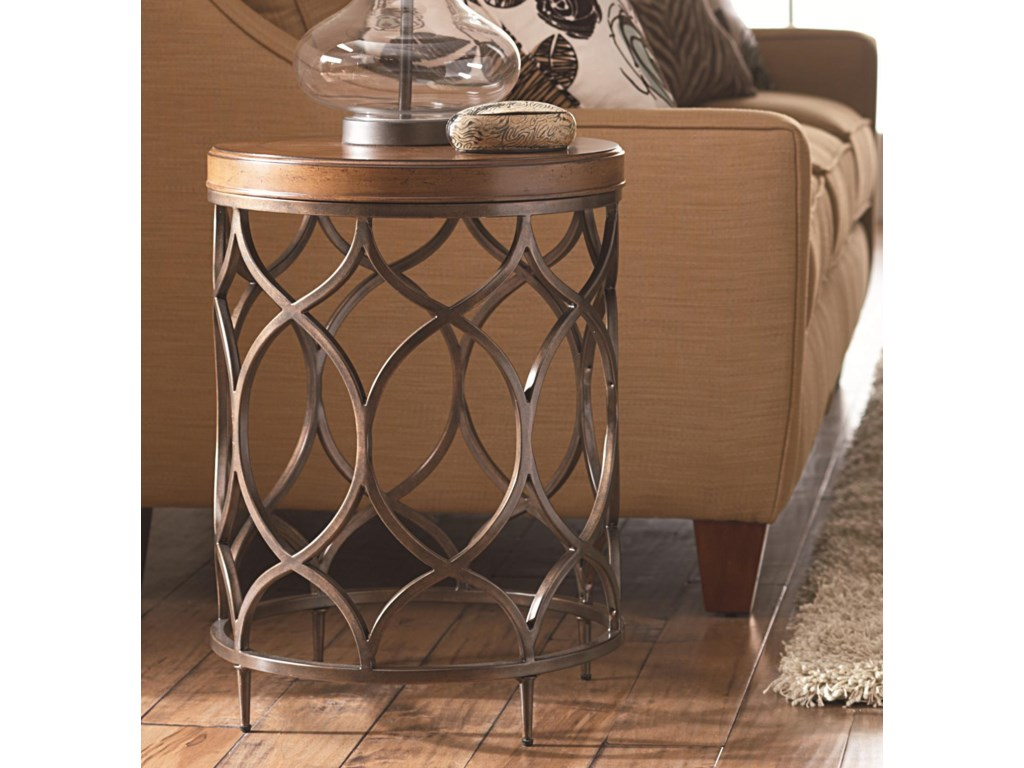 Hammary Hidden TreasuresRound Lamp Table