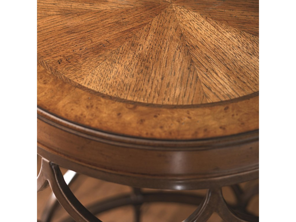 Detail of Round Wood Top