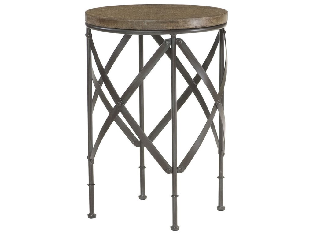 Hammary Hidden TreasuresRound Metal Table