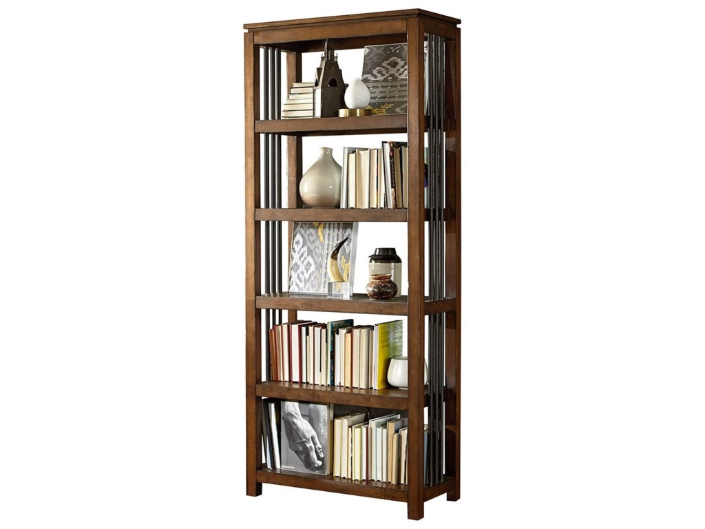 Hammary Hidden TreasuresBookcase with Five Shelves