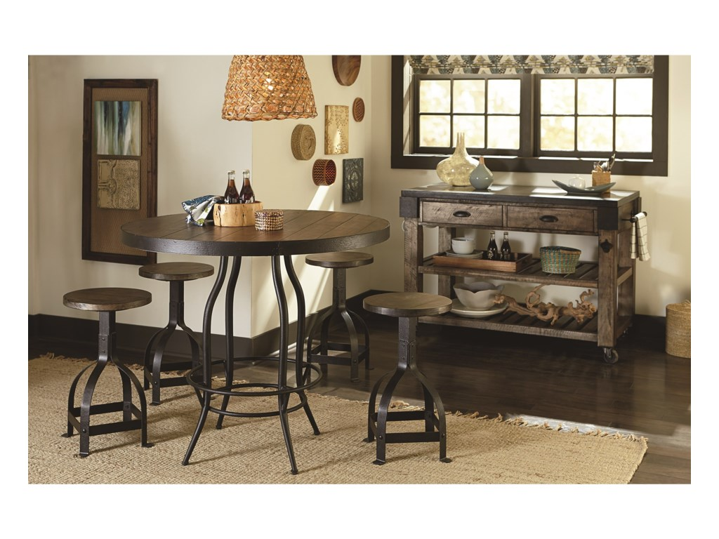 Hammary Hidden TreasuresGranite Top Kitchen Island