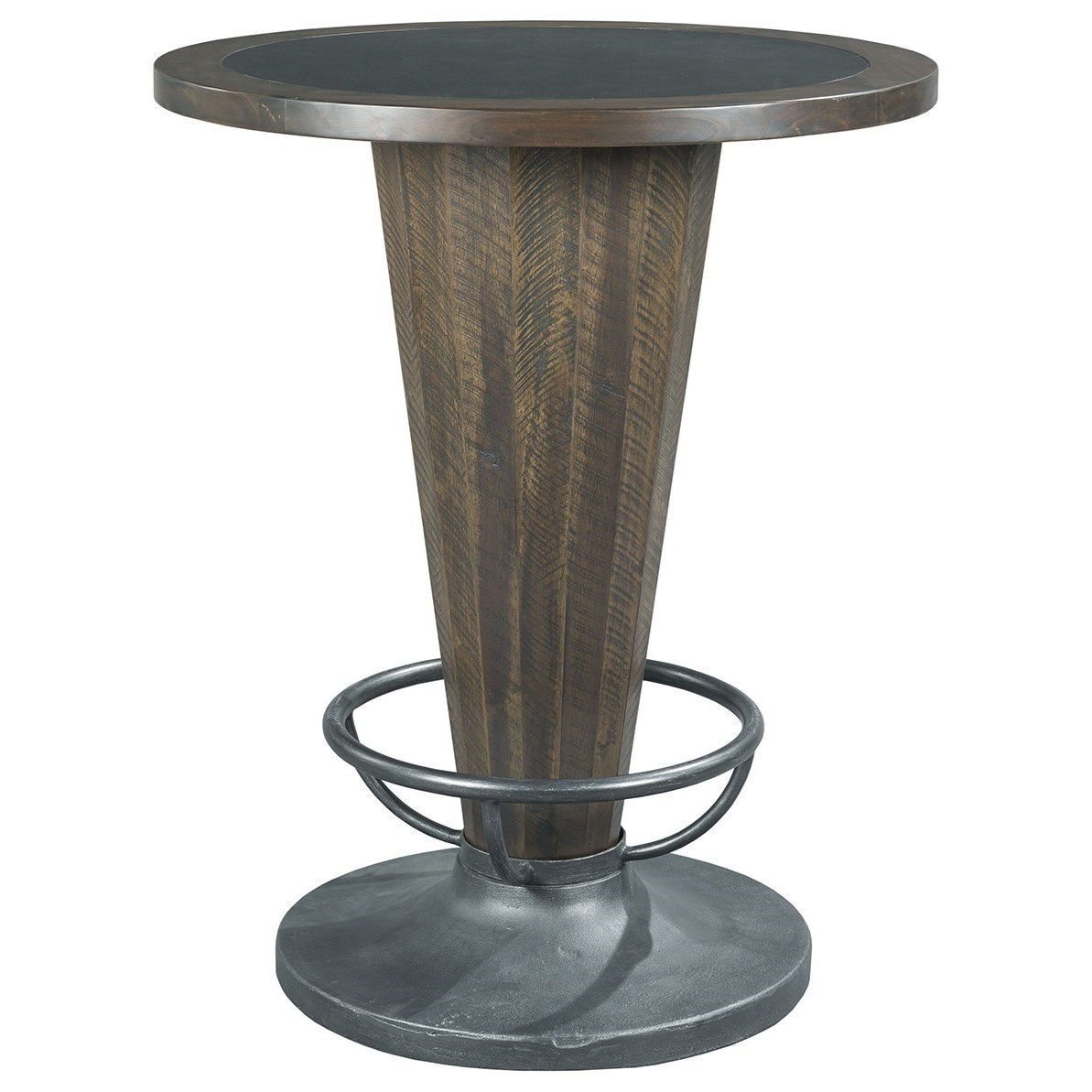 Hidden Treasures Cone Shaped Pub Table By Hammary