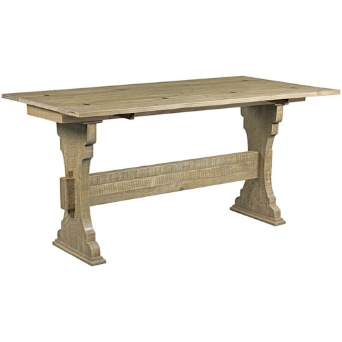 Hammary Hidden Treasures Trestle Flip Top Table