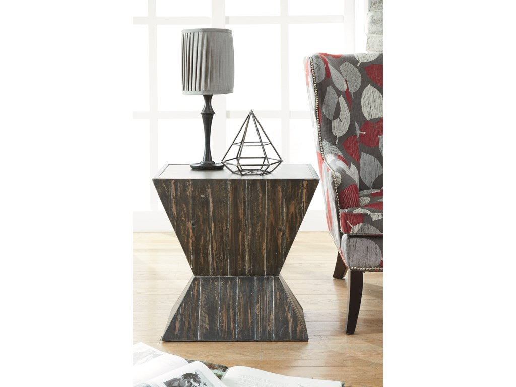 Hammary Hidden TreasuresAngular Accent Table