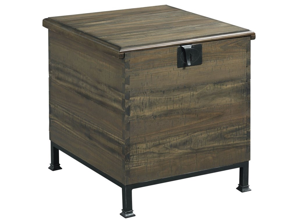 Hammary Hidden TreasuresMilling Chest End Table