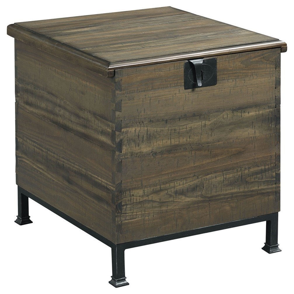 Merveilleux Hammary Hidden Treasures Milling Chest End Table