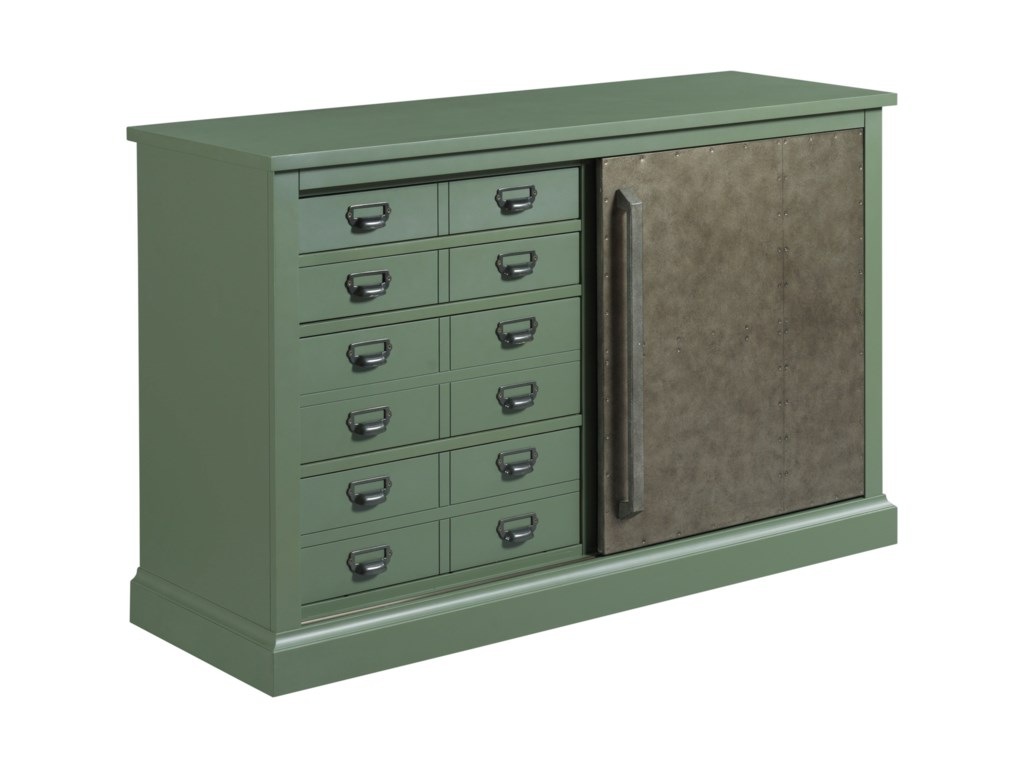 Hammary Hidden TreasuresSliding Door Console