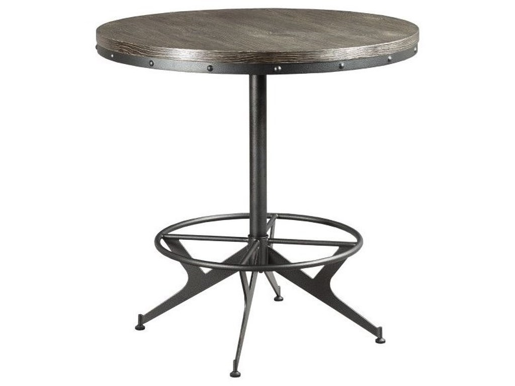 Counter Height Round Bar Table