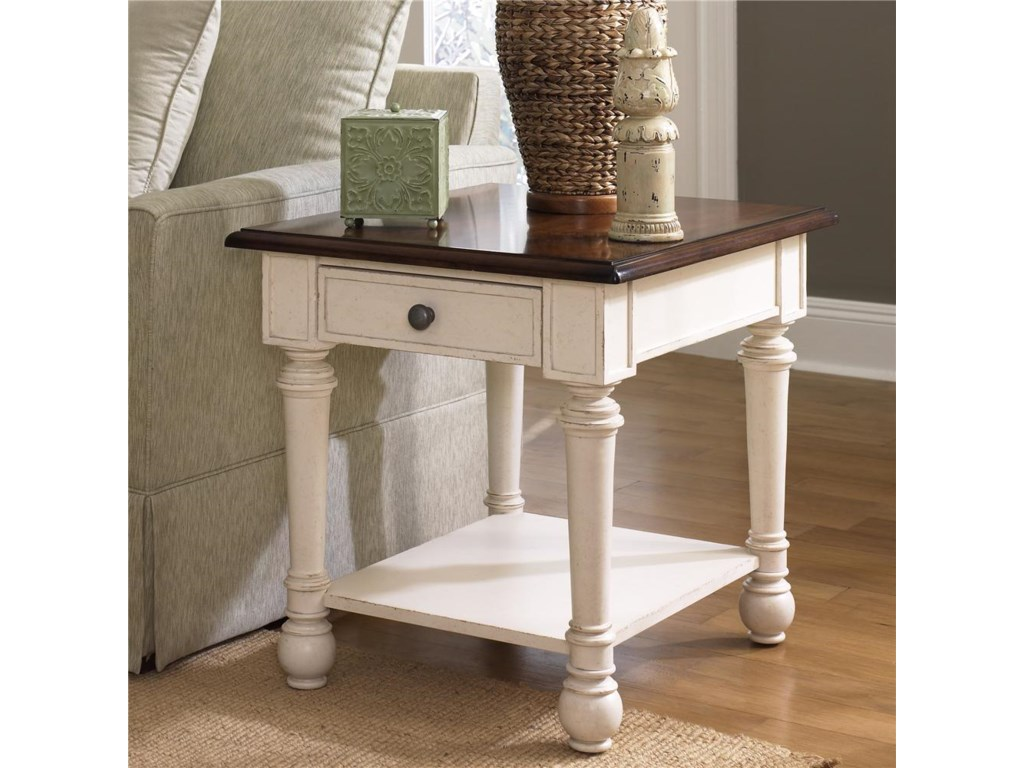 Hammary PromenadeRectangular Drawer End Table
