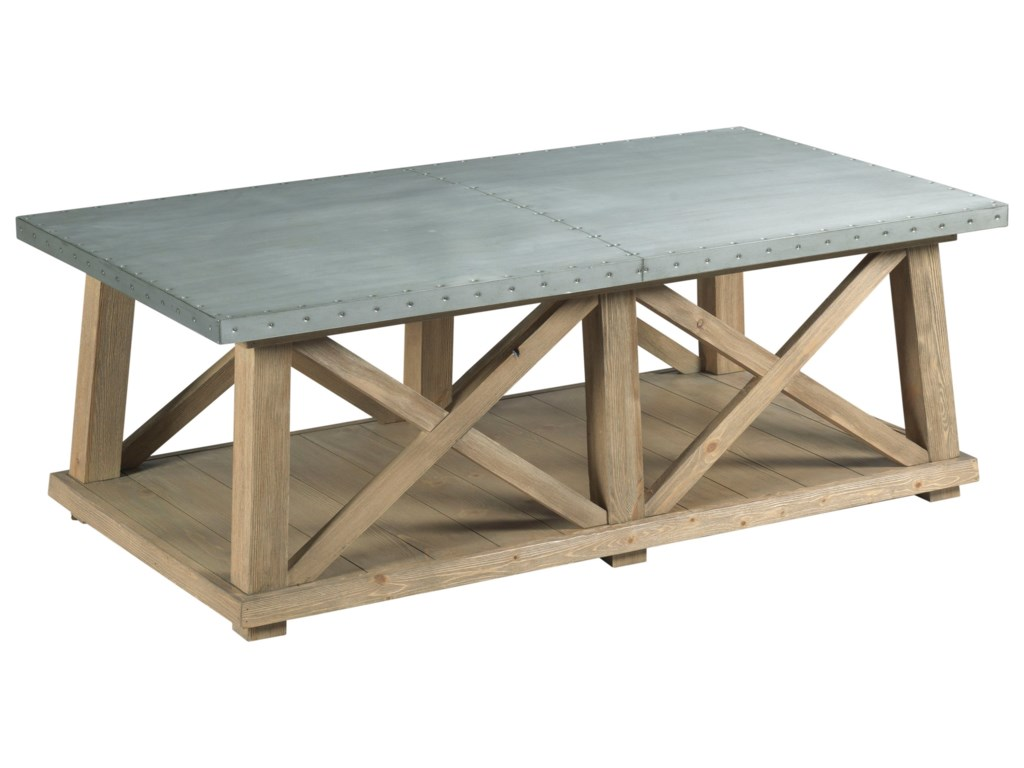 Hammary JunctionTruss Cocktail Table