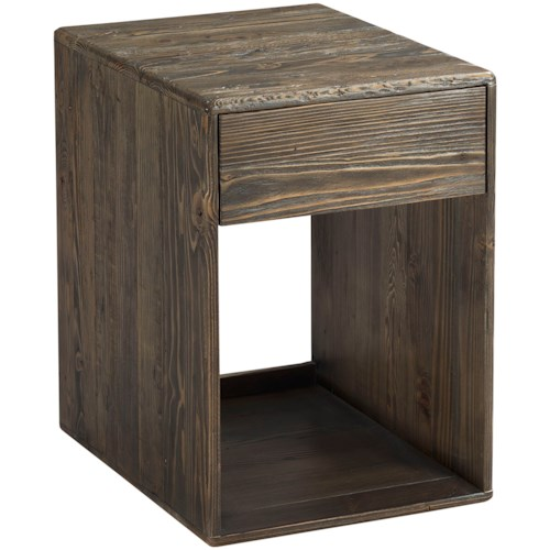 Hammary Junction Block End Table