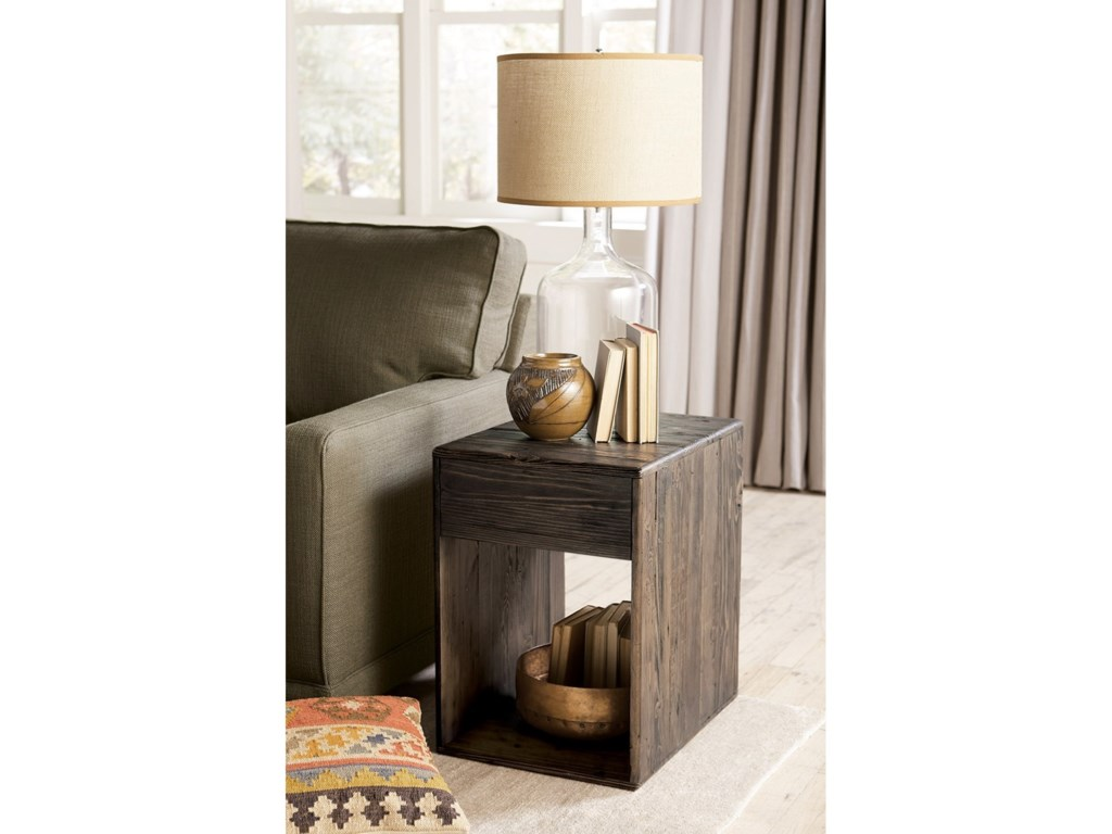 Hammary JunctionBlock End Table