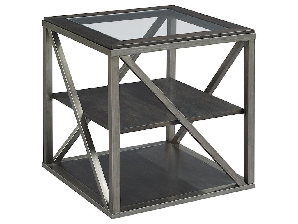 Hammary JupiterRectangular End Table