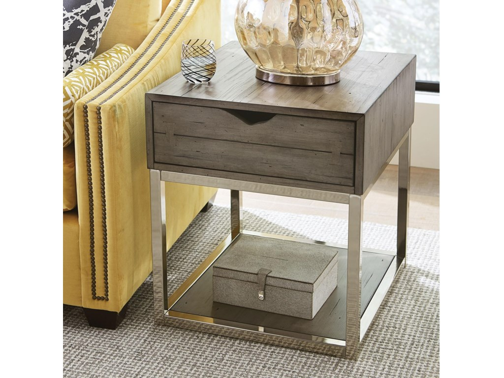 Hammary LakelandRectangular Drawer End Table