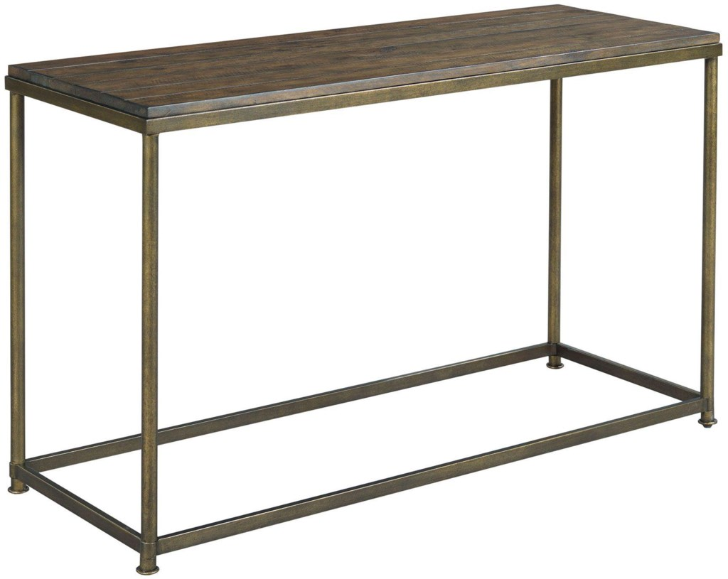 Leone Sofa Table With Antique Brass Base Morris Home Sofa Tables