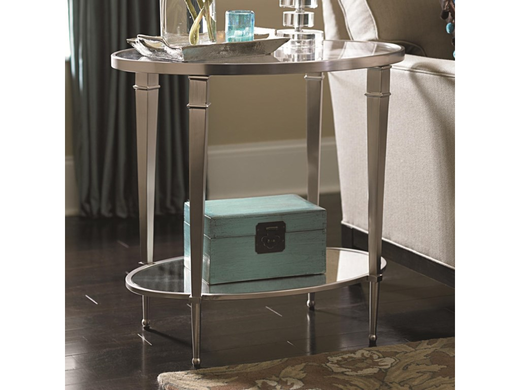 Hammary MalloryOval End Table