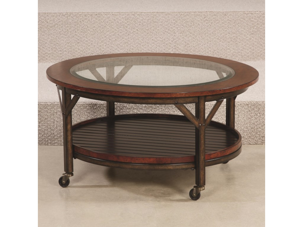 Hammary MercantileRound Cocktail Table