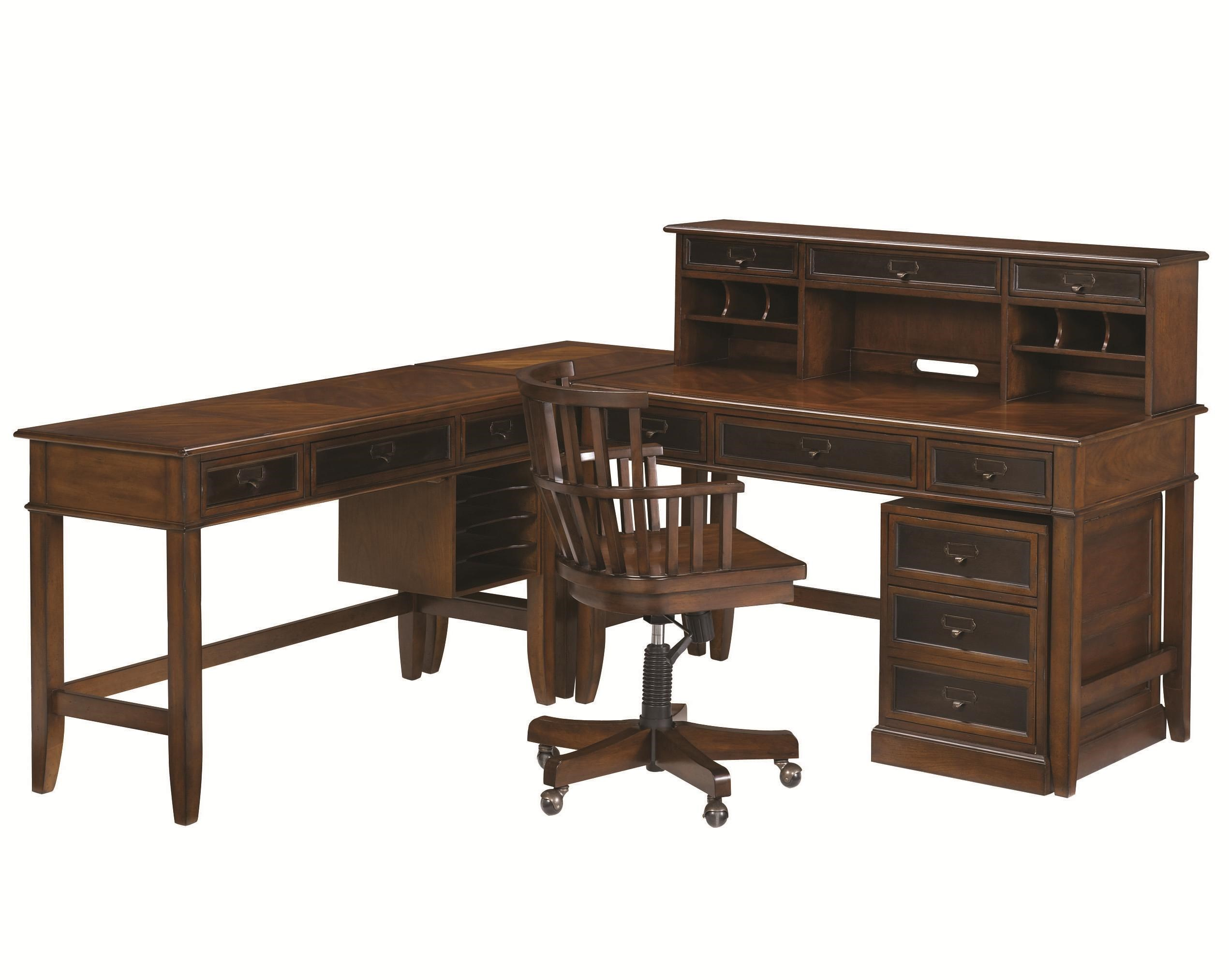 Merveilleux Morris Home MercantileL Shaped Desk And Credenza ...