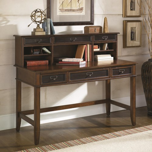 Hammary Mercantile Desk and Hutch