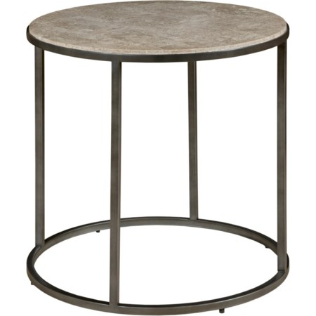 Loretto Round End Table