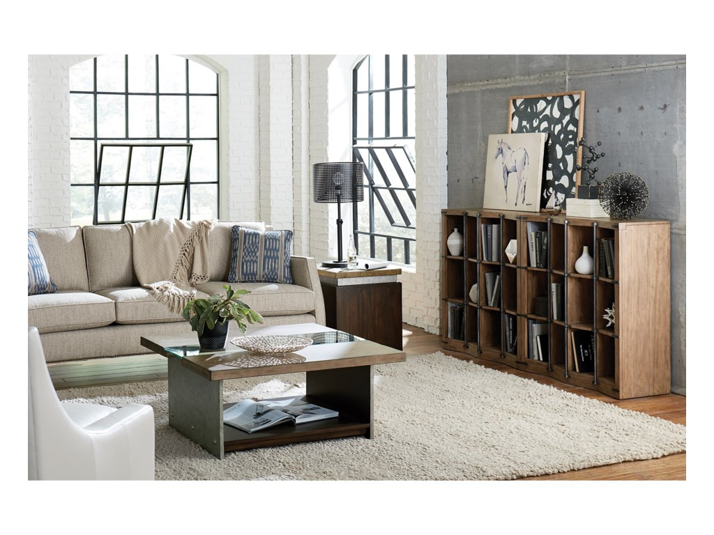 TABLE TRENDS Modern OriginsBunching Bookcase