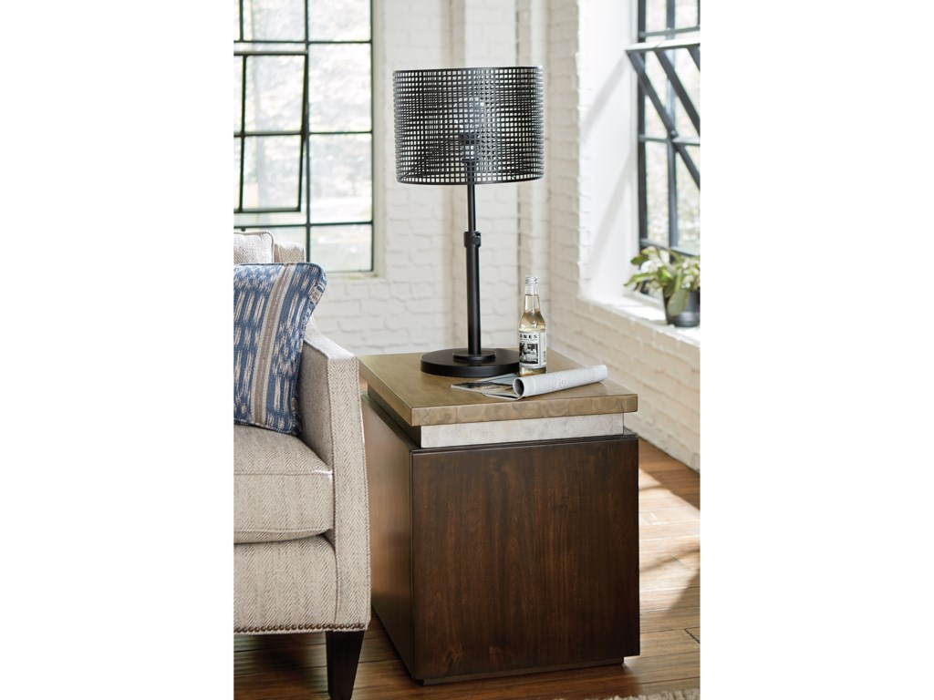 Hammary Modern OriginsCube End Table