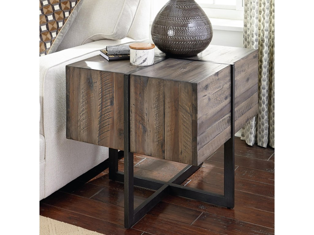 Hammary Modern TimberAccent End Table