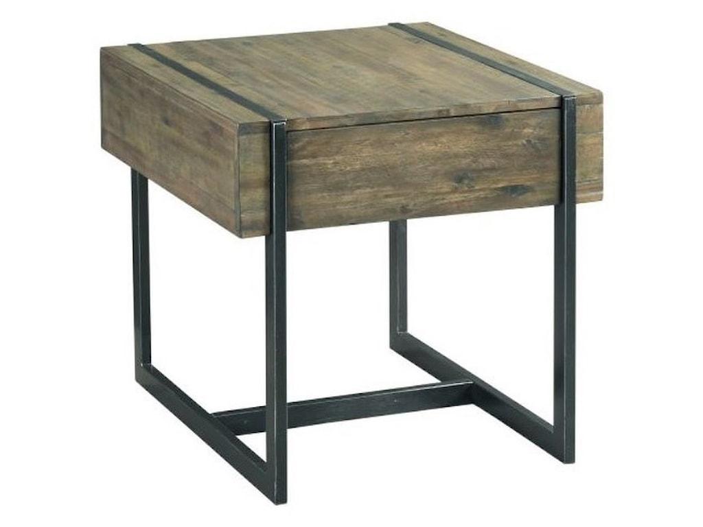 Hammary Modern TimberRectangular Drawer End Table