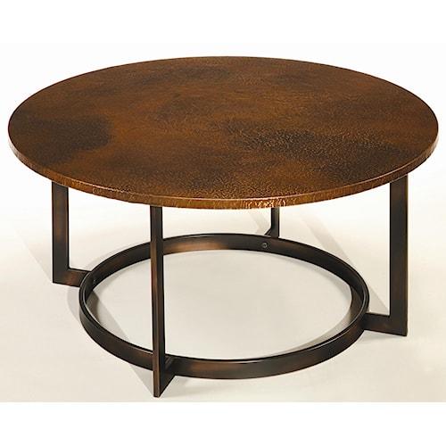 Hammary Nueva Coffee Table Top w/ Copper Top