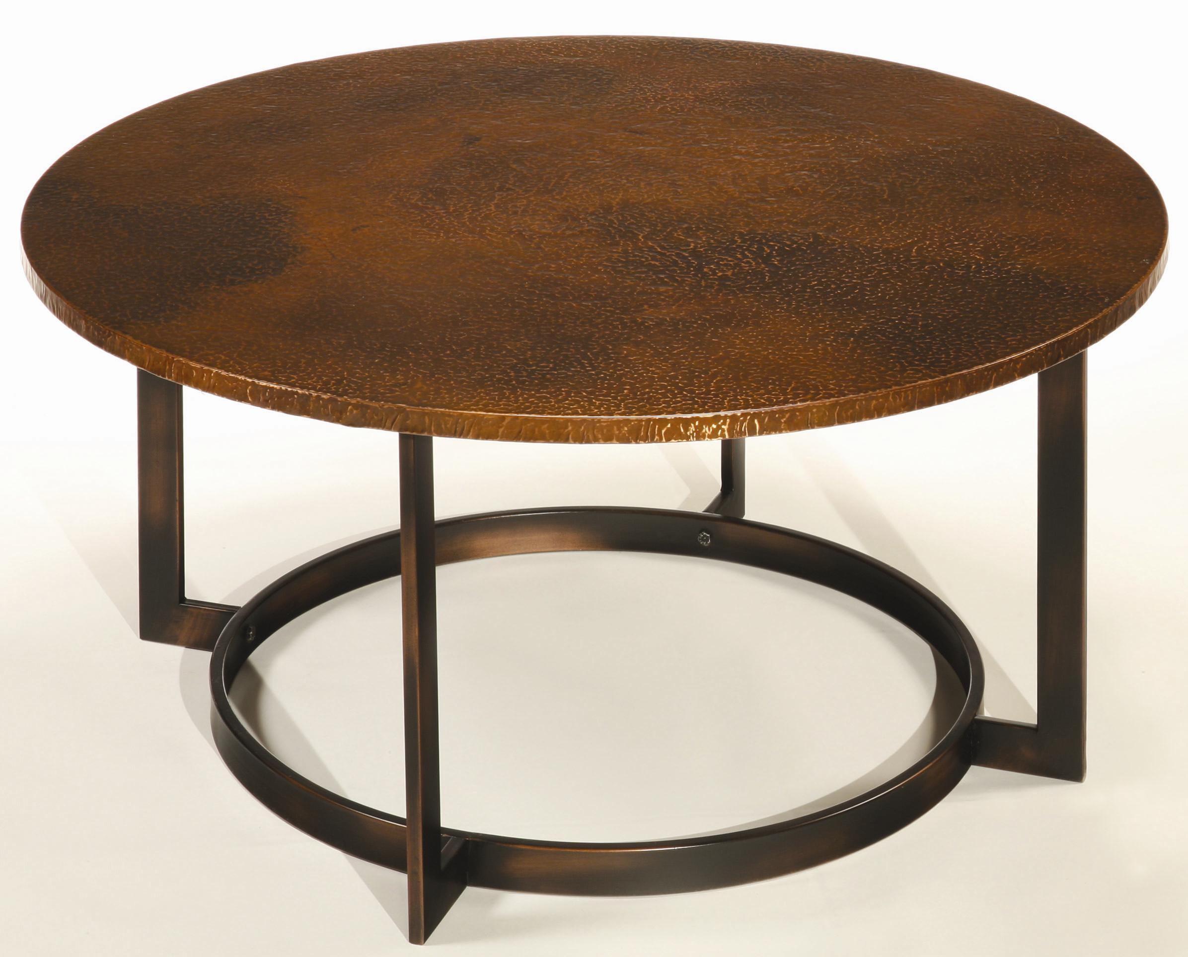 Nueva Coffee Table Top W/ Copper Top