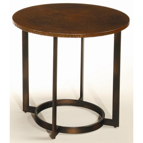 Hammary Nueva Occasional End Table w/ Copper Top