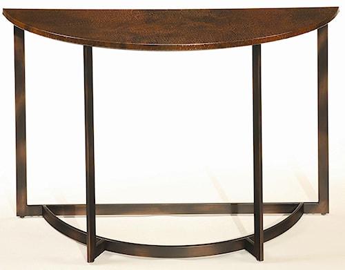Hammary Nueva Occasional Sofa Table w/ Copper Top