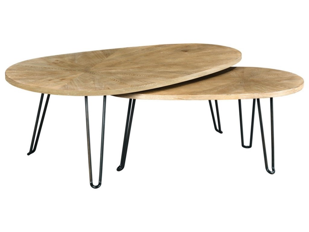 Hammary ObliqueBunching Table